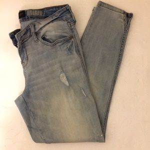 Faded Aeropostale Stretchy Jeans.